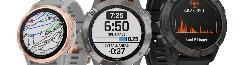 Garmin fenix-6 Family